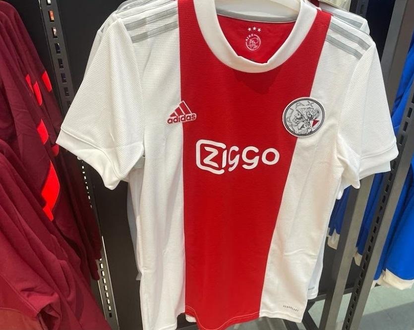 Ajax 2022 nouveau maillot domicile football