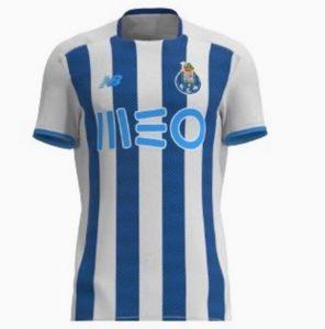 FC Porto 2022 maillot domicile foot