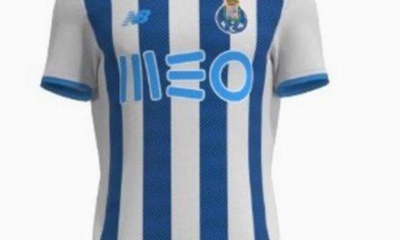 Les 3 nouveaux maillots de football FC Porto 2022