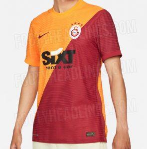 Galatasaray 2022 maillot domicile football