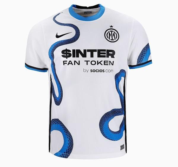 Inter Milan 2022 maillot de foot exterieur officiel Nike