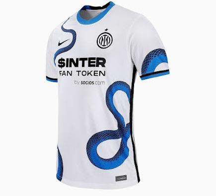 Inter Milan 2022 maillot de foot exterieur officiel