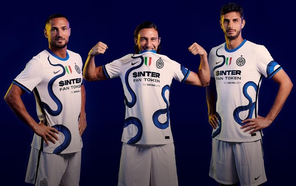 Inter Milan 2022 maillot de football exterieur blanc