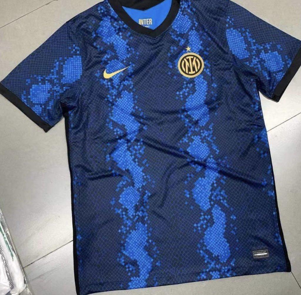 Inter Milan 2022 nouveau maillot de foot 21 22