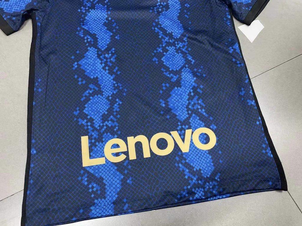 Inter Milan 2022 nouveau maillot de football 21 22