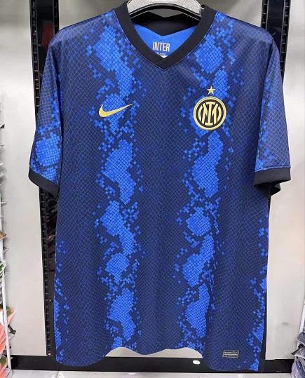 Inter Milan 2022 nouveau maillot domicile foot
