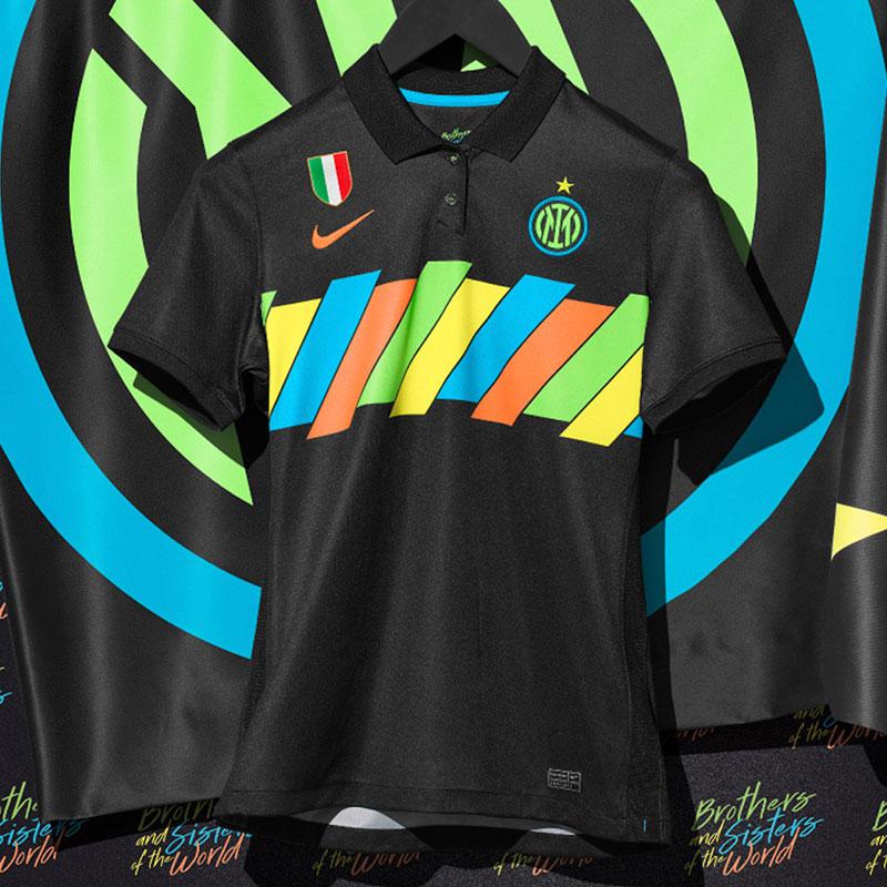 Inter Milan 2022 nouveau troisieme maillot third foot