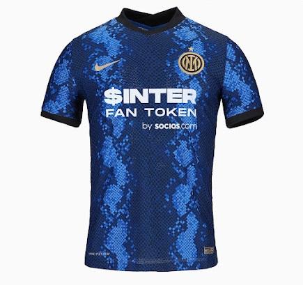 Inter Milan maillot domicile Fan Token