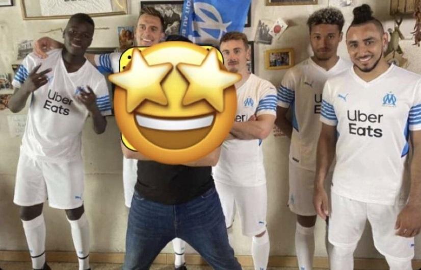 Marseille OM 2022 nouveau maillot domicile foot