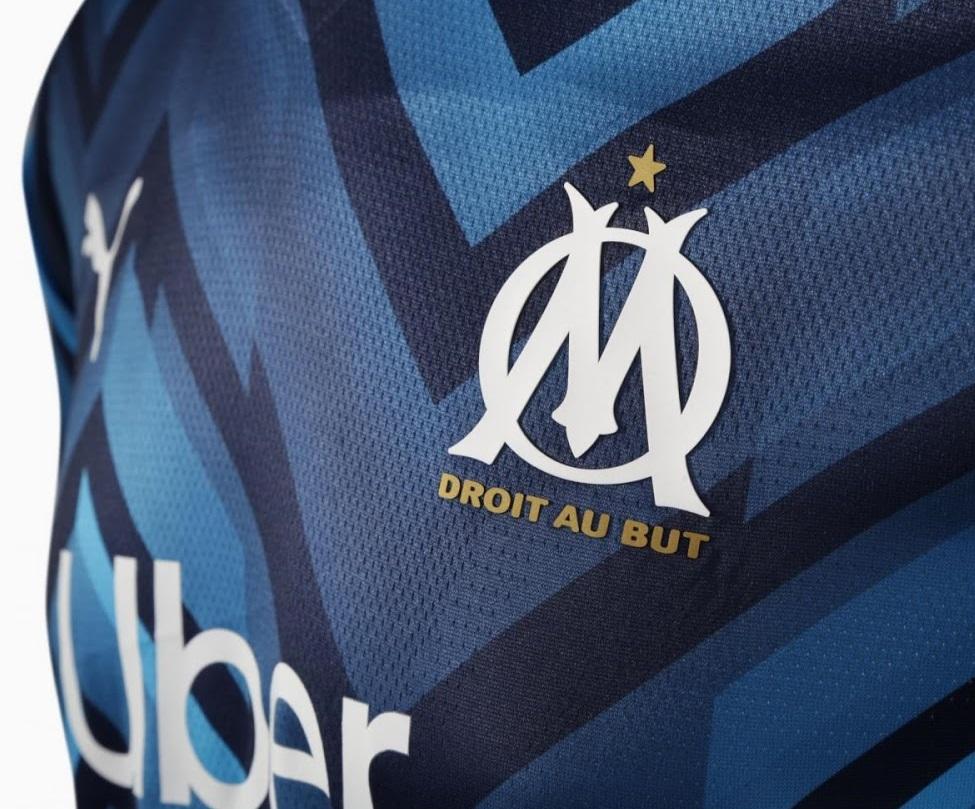 OM 2022 le nouveau maillot exterieur Marseille Puma