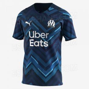 OM 2022 maillot exterieur foot exterieur Marseille