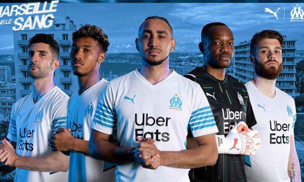 OM 2022 les nouveaux maillots Olympique de Marseille 2021-2022
