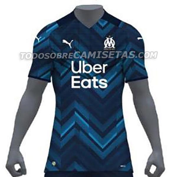OM 2022 nouveau maillot exterieur Marseille foot Puma