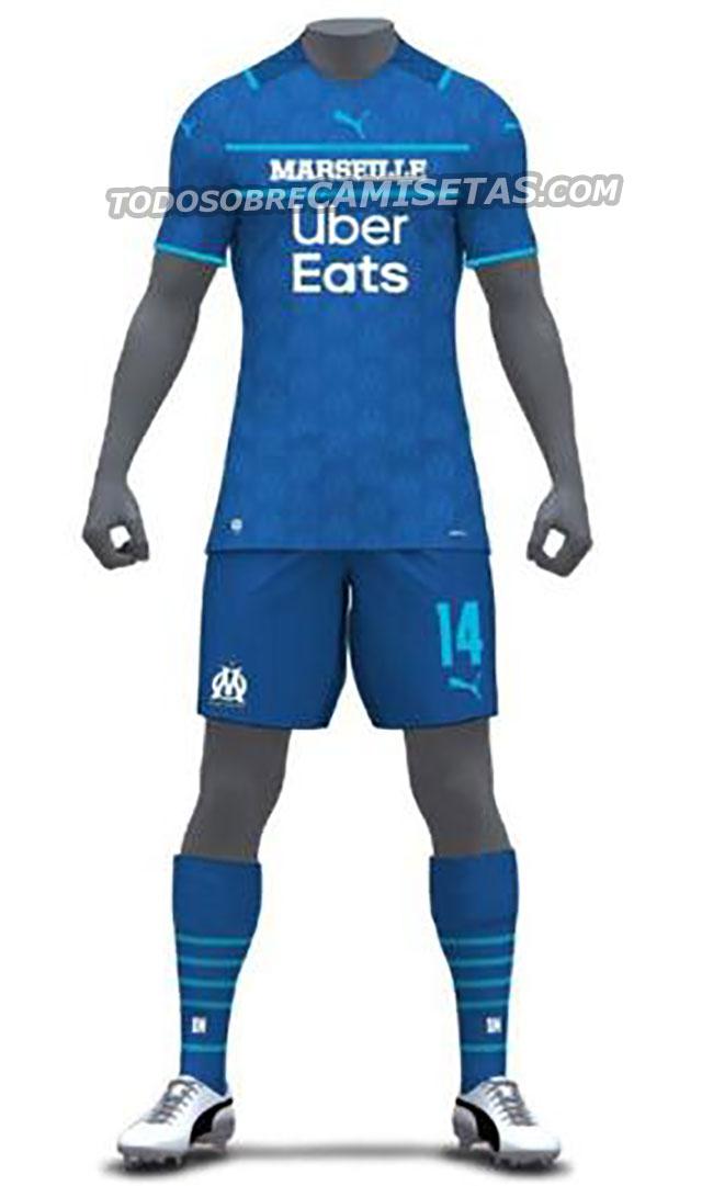 Olympique Marseille 2022 3eme maillot third