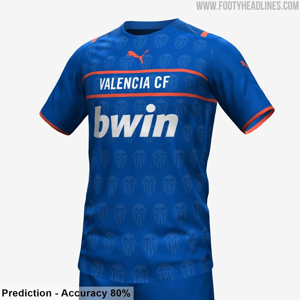Valencia 2022 nouveau maillot third 21 22 prediction 1