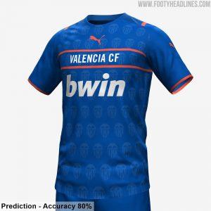 Valencia 2022 troisieme maillot third foot