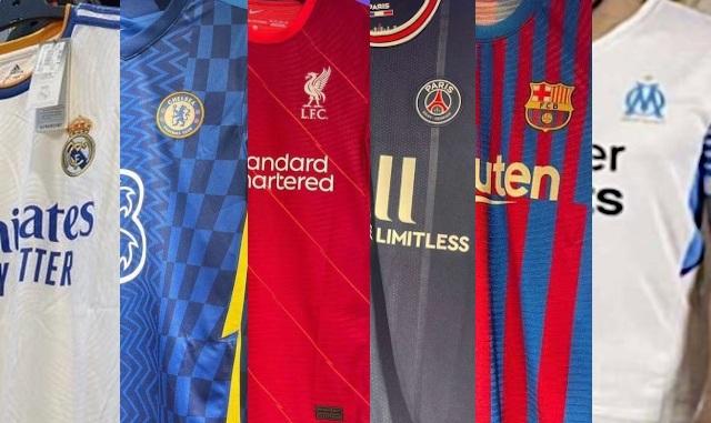 nouveaux maillots football 2021 2022