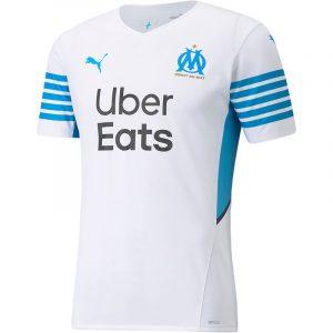 olympique marseille 2021 2022 maillot domicile officiel