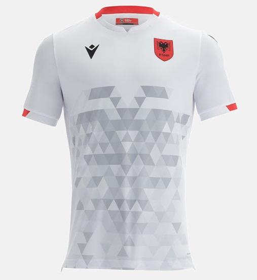 Albanie 2022 maillot exterieur