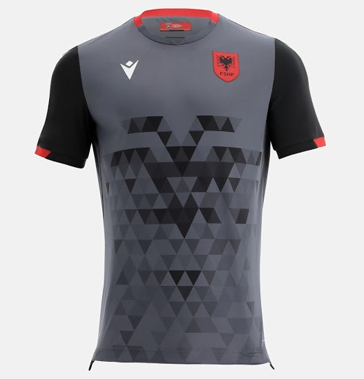 Albanie 2022 maillot third foot