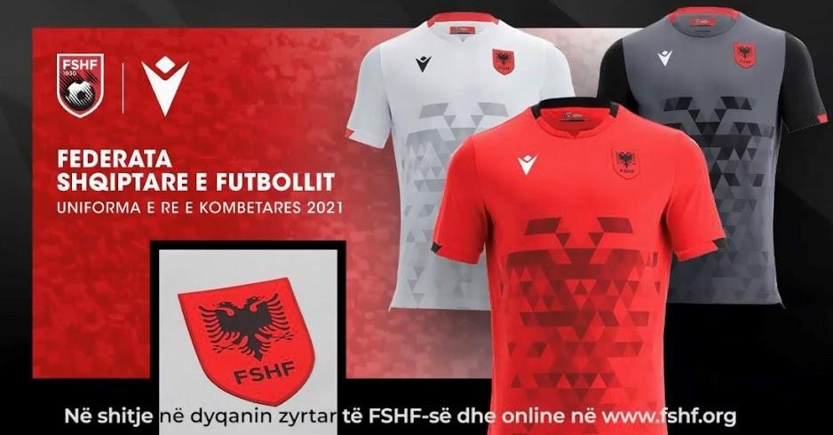 Albanie 2022 nouveaux maillot de foot