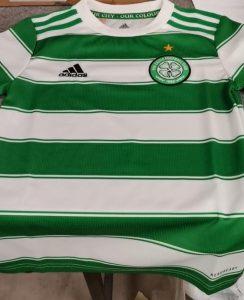 Celtic 2022 nouveau maillot domicile