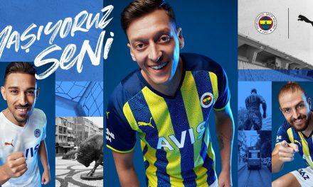 Les nouveaux maillots de foot Fenerbache 2022 passent chez Puma