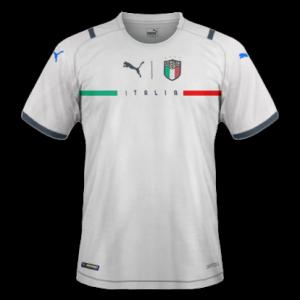Italie Euro 2020 nouveau maillot de foot exterieur