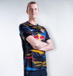 Leipzig 2022 maillot exterieur football