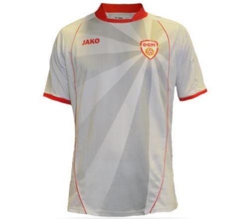 Macedoine du Nord Euro 2020 maillot away