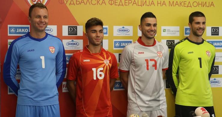 Macedoine du Nord Euro 2020 maillot de foot