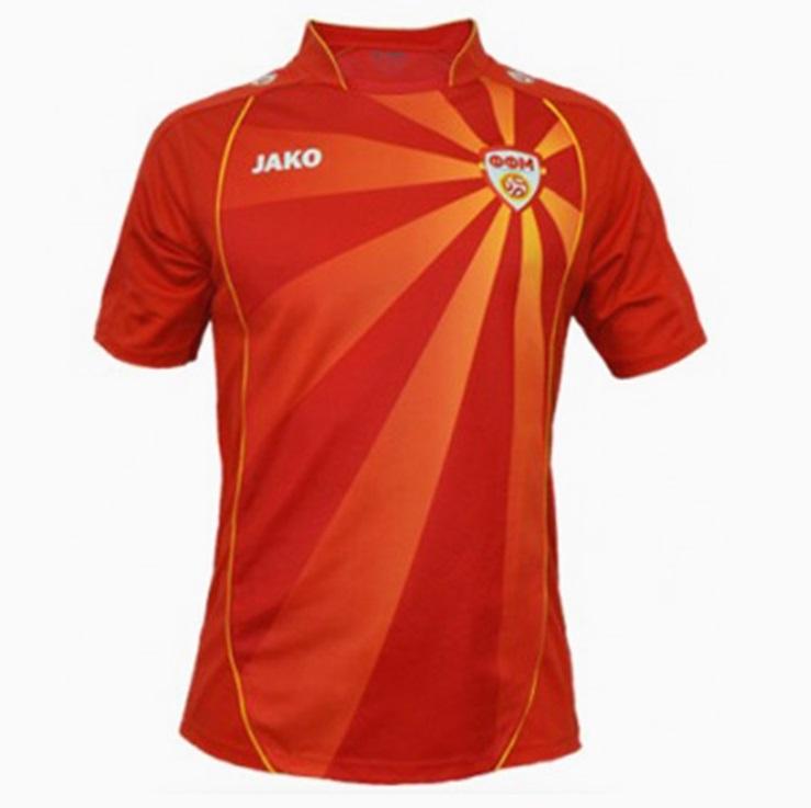 Macedoine du Nord Euro 2020 maillot domicile