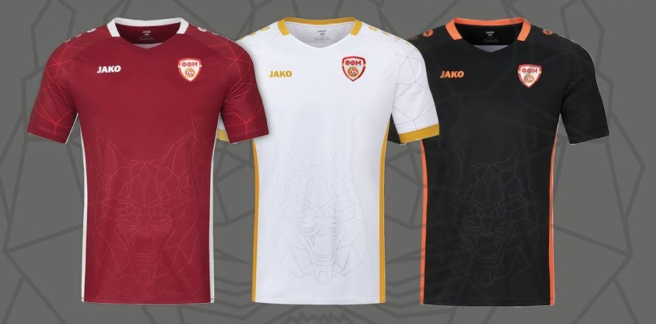 Macedoine du Nord nouveaux maillots 2021