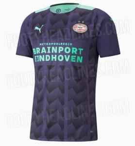 PSV 2022 maillot de foot exterieur 21 22