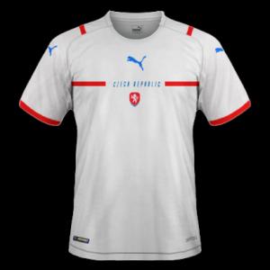 Republique Tcheque Euro 2020 nouveau maillot de foot exterieur