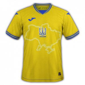 Ukraine Euro 2020 nouveau maillot de foot domicile