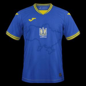 Ukraine Euro 2020 nouveau maillot de foot exterieur