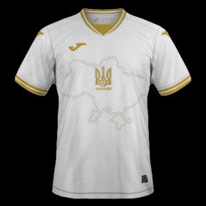 Ukraine Euro 2020 nouveau maillot de foot third