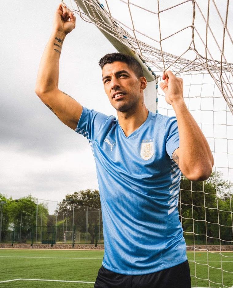 Uruguay Copa America 2021 maillot domicile Puma