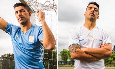 Les nouveaux maillot Uruguay Copa America 2021