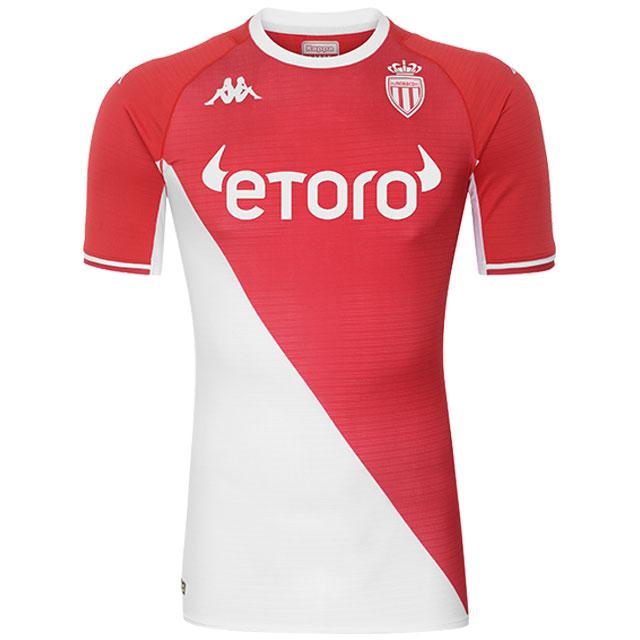 AS Monaco 2022 nouveau maillot de foot domicile