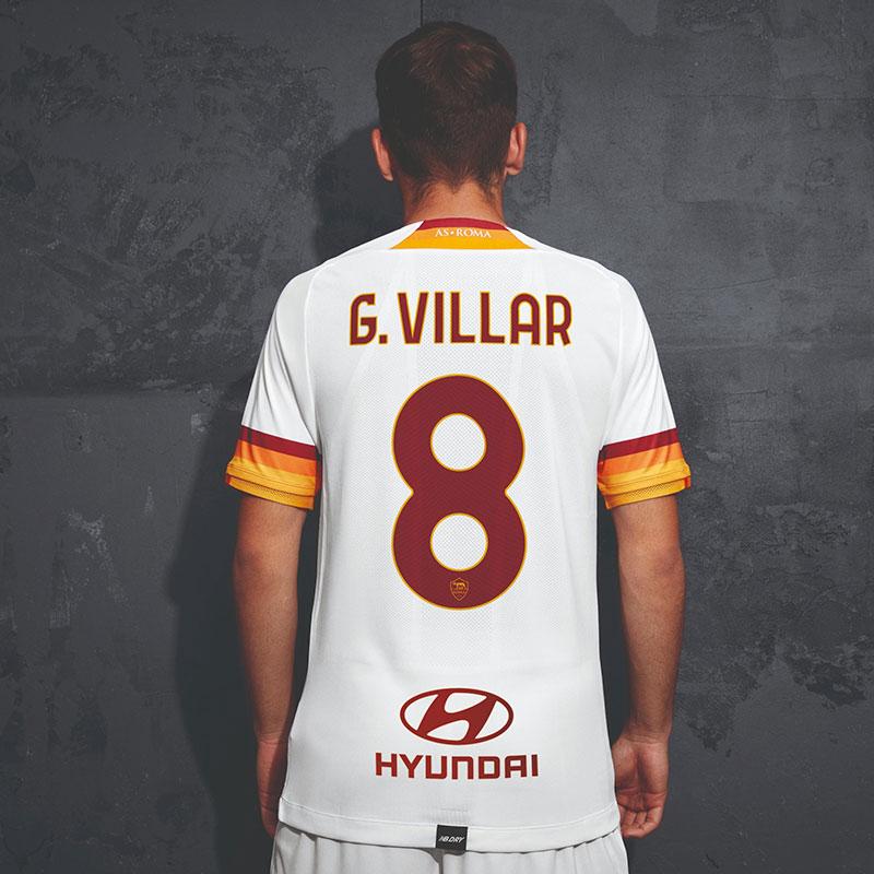 AS Roma 2021 2022 maillot exterieur officiel dos
