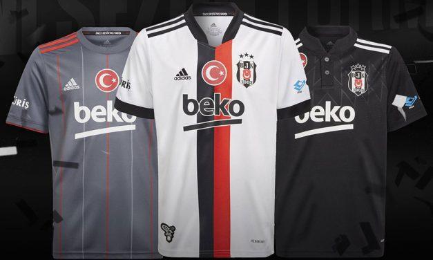 Besiktas 2022 les nouveaux maillots par Adidas