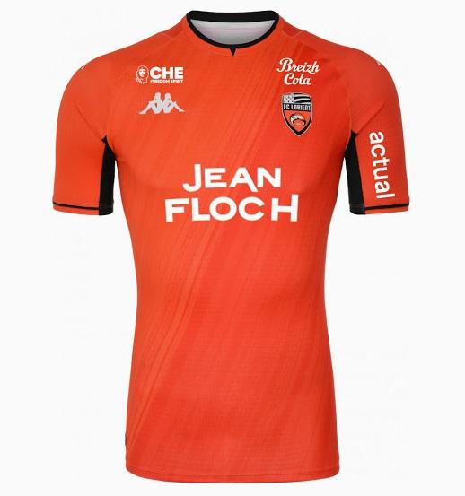 FC Lorient 2022 maillot de foot domicile officiel