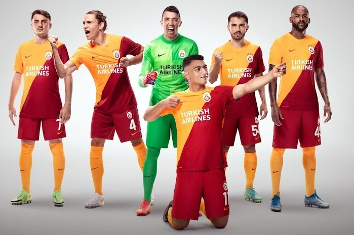 Galatasaray 2021-2022 maillot domicile foot officiel