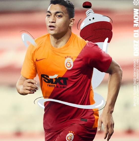Galatasaray 2022 maillot domicile