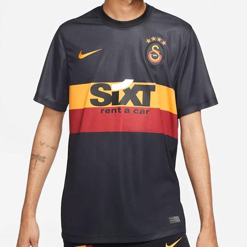 Galatasaray 2022 nouveau maillot exterieur noir