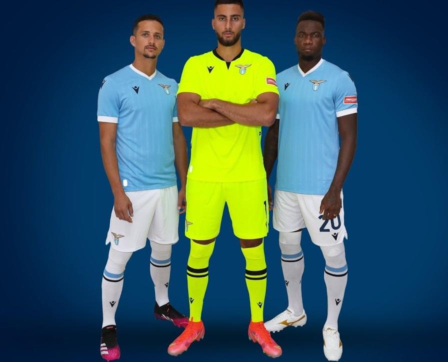 Lazio 2021-2022 maillot domicile foot