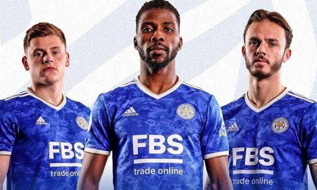 Les nouveaux maillots de foot Leicester 2022 en Premier League