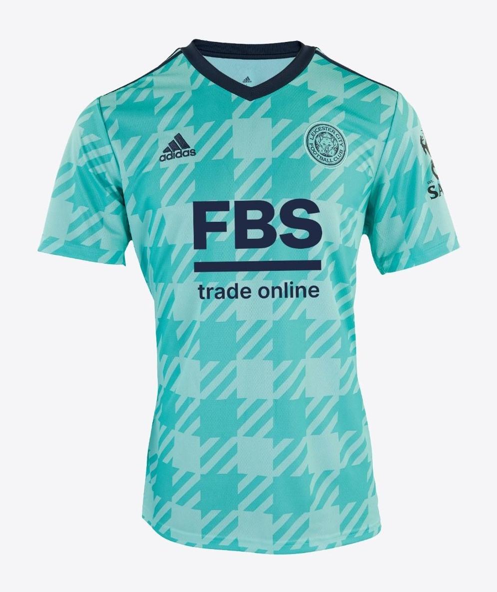 Leicester 2022 nouveau maillot de foot exterieur